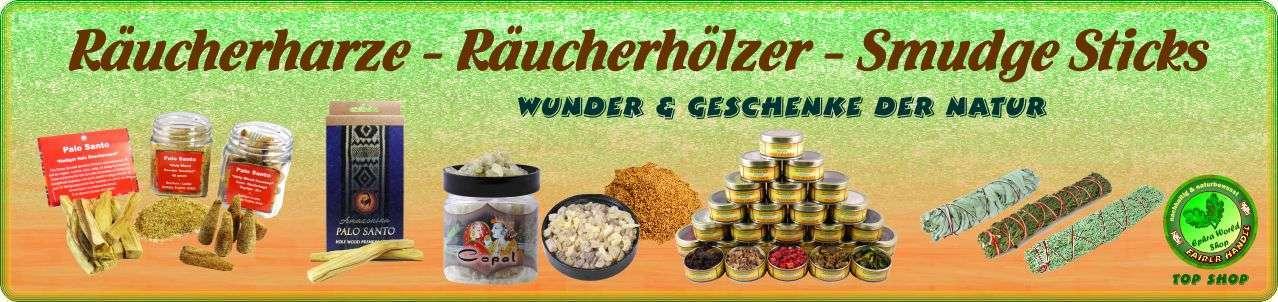 Ephra World Räucherwerk Shop - Räucherharze - Räucherhölzer - Smudge Sticks