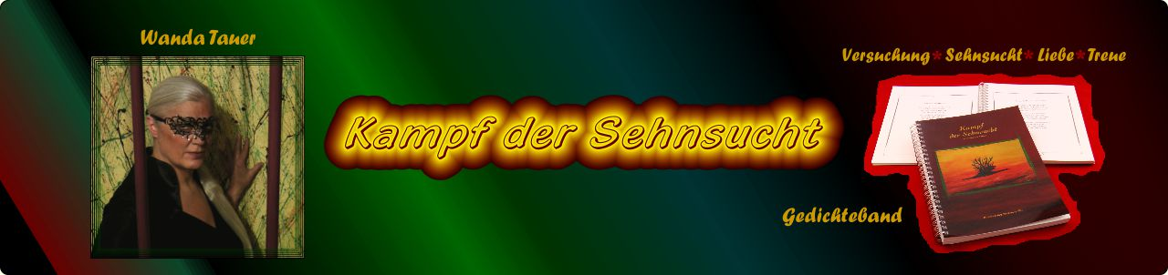 Poesie Gedichteband: Kampf der Sehnsucht von Wanda Tauer Bockenheim