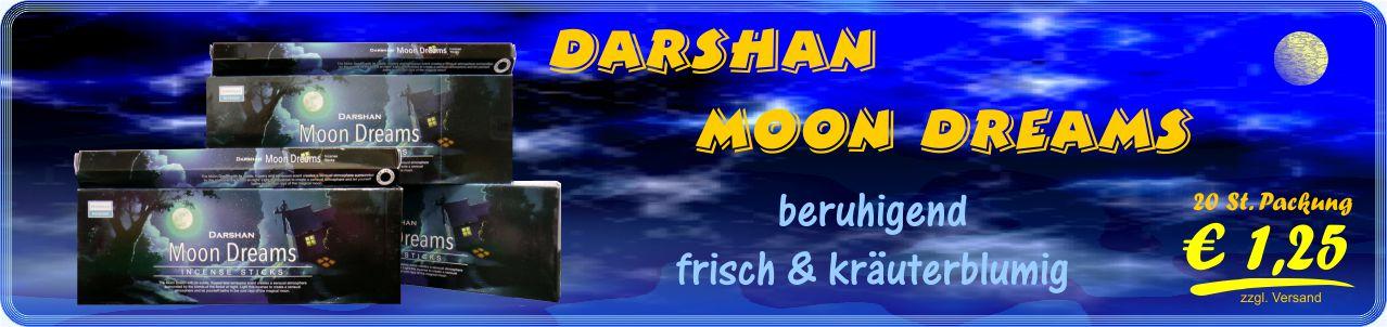 Räucherstäbchen Shop - Darshan Moon Dream Räucherstäbchen GTIN 8902264011469