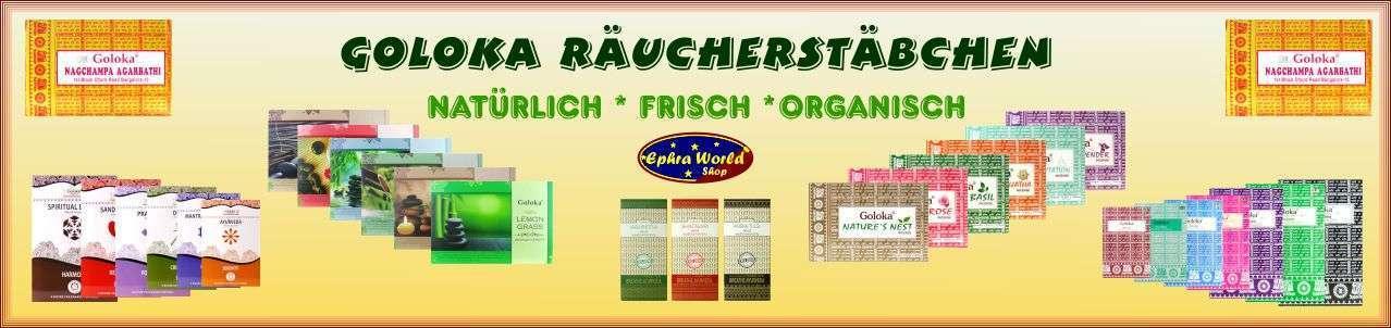 Goloka Räucherstäbchen & Räucherkegel