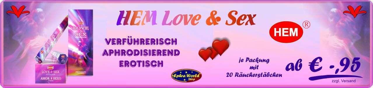 HEM Räucherstäbchen Love & Sex