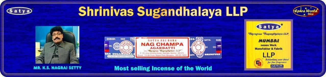 Satya - Shrinivas Sugandhalaya LLP - Nag Champa Räucherstäbchen