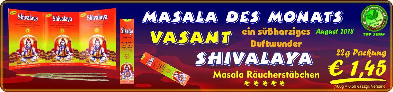 Räucherstäbchen Shop - Shivalaya Dhoop Bathi Räucherstäbchen