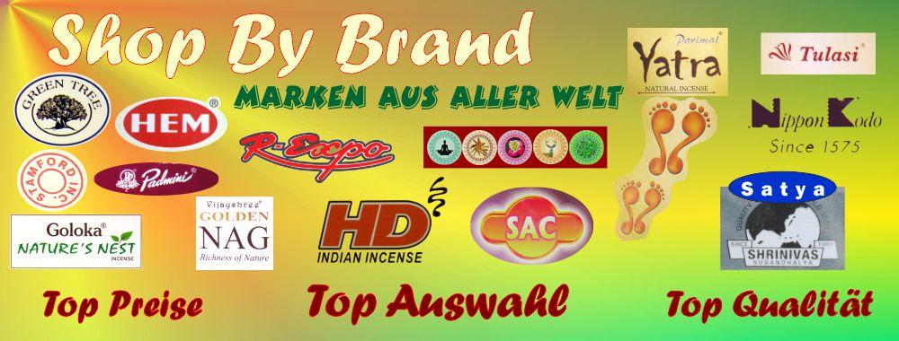 1500+ Sorten Räucherstäbchen & Duftartikel geordnet nach Herstellern & Marken. Shop By Brand. Hier frisch bestellen, hier günstig kaufen. Schneller Versand.