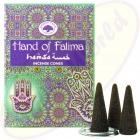 Green Tree Räucherkegel Hand Of Fatima