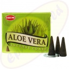 HEM Aloe Vera indische Räucherkegel - Räucherkerzen