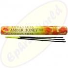 HEM Amber Honey indische Räucherstäbchen