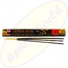 HEM Amber Rose indische Räucherstäbchen