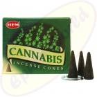 HEM Cannabis indische Räucherkegel - Räucherkerzen