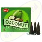 HEM Coconut indische Räucherkegel