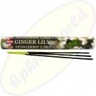HEM Ginger & Lily indische Räucherstäbchen