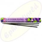 HEM Lavender Fennel indische Räucherstäbchen