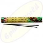 HEM Patchouli Amber indische Räucherstäbchen