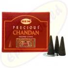 HEM Precious Chandan indische Räucherkegel - Räucherkerzen