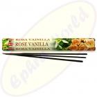 HEM Rose Vanilla indische Räucherstäbchen