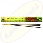 HEM Sandal Vanilla indische Räucherstäbchen