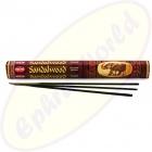 HEM Sandalwood indische Räucherstäbchen