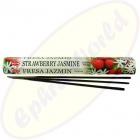 HEM Strawberry Jasmine indische Räucherstäbchen