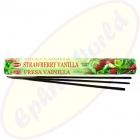 HEM Strawberry Vanilla indische Räucherstäbchen
