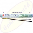 White  Sage indische XL Räucherstäbchen