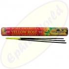HEM Yellow Rose indische Räucherstäbchen