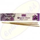 Nandita Organic Violet Premium Masala Räucherstäbchen