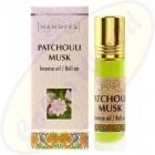 Nandita Patchouli Musk Incense Oil - Parfüm Roll On