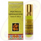 Nandita Patchouli Sandalwood Incense Oil - Parfüm Roll On