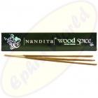 Nandita Wood Spice indische Premium Masala Räucherstäbchen