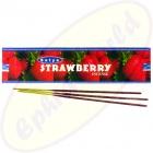 Satya Strawberry indische Flora Räucherstäbchen 20g