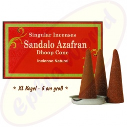 Anand Saffron Sandal XL Räucherkegel groß