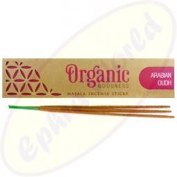 R.Expo Song Of India Organic Masala Räucherstäbchen Arabian Oudh (Oodh)