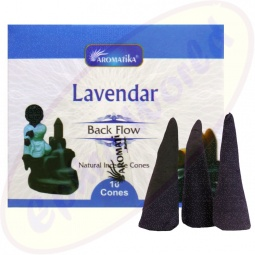 Aromatika Back Flow Lavender XL Räucherkegel Groß