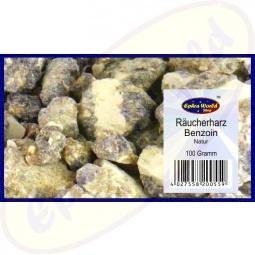 Benzoin Räucherharz Natur 100g