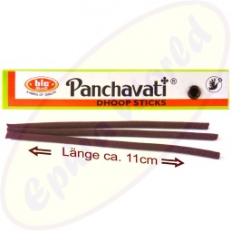 bic Brand Panchavati Dhoop Sticks Long Size 10er