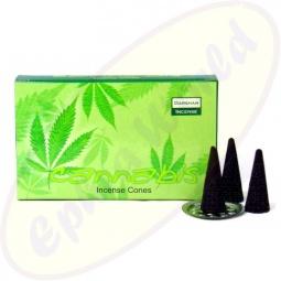 Darshan Cannabis indische Räucherkegel - Räucherkerzen