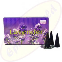 Räucherkegel Darshan Lavender