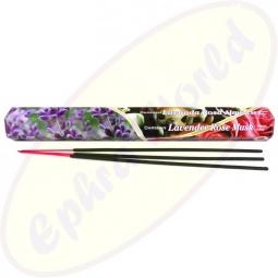 Darshan Lavender Rose Musk Räucherstäbchen