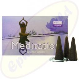 Darshan Meditation Räucherkegel - Räucherkerzen