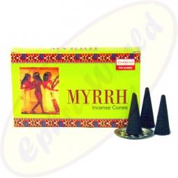 Darshan Myrrh indische Räucherkegel - Räucherkerzen