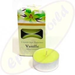 Pajoma Duft-Teelichte Vanille 2er Groß