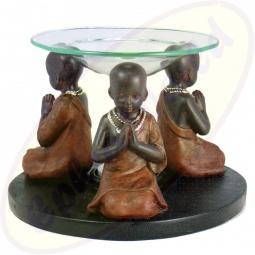 Duftlampe 3 Mönche