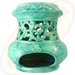 Duftlampe Orient Türkis 17 x 15 cm