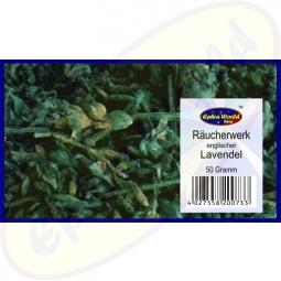 Englischer Lavendel Räucherwerk (english Lavender) 50g
