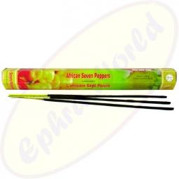 Flute African 7 Peppers indische Räucherstäbchen