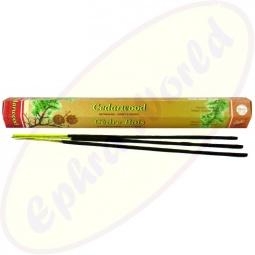 Flute Cederwood indische Räucherstäbchen