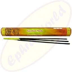 Flute Egyptian Musk indische Räucherstäbchen