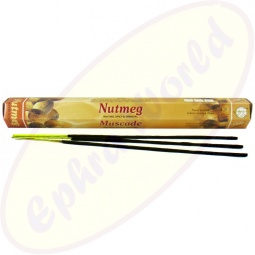 Flute Brand Nutmeg indische Räucherstäbchen