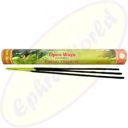 Flute Brand Open Ways indische Räucherstäbchen