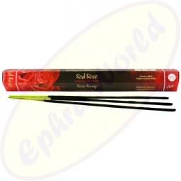 Flute Brand Red Rose indische Räucherstäbchen